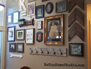 Gallery Wall Designs & Layouts Anyone Can Do - Tips & Tricks