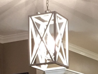 How to Make a Repurposed Rustic Chandelier