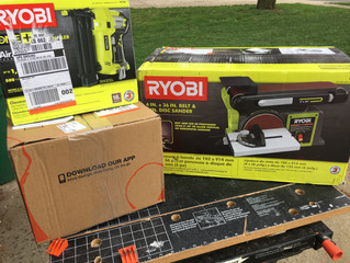 Ryobi AirStrike Nailer & Belt Sander Review - Tools Every DIYer Should Have