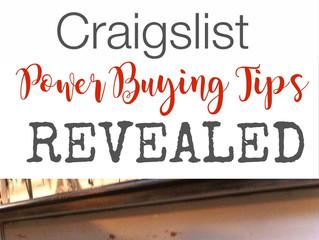 Craigslist Power Buying Tips Revealed