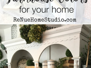 The Top 5 Farmhouse / Vintage Colors For Your Home