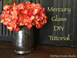 Mercury Glass DIY Tutorial