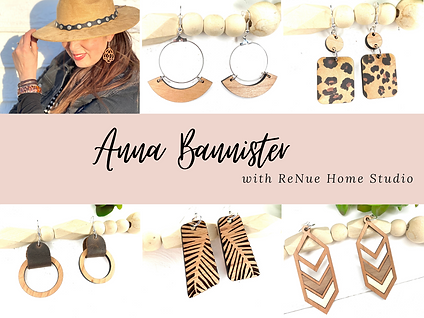 Anna Bannister with ReNue Home Studio (2