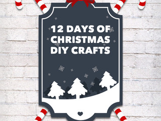 Day #12 - 12 Days of Christmas DIY Crafts - Felt Bird Christmas Ornaments