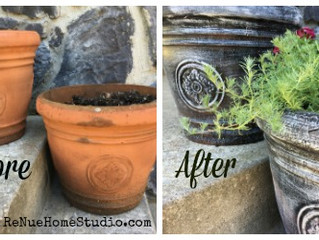 Update Your Flower Pots & Planters in Less Than 15 Minutes