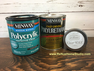 When To Use Polycrylic, Polyurethane or Furniture Wax