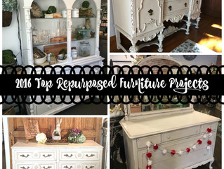 2016 Top Repurposed Furniture Projects