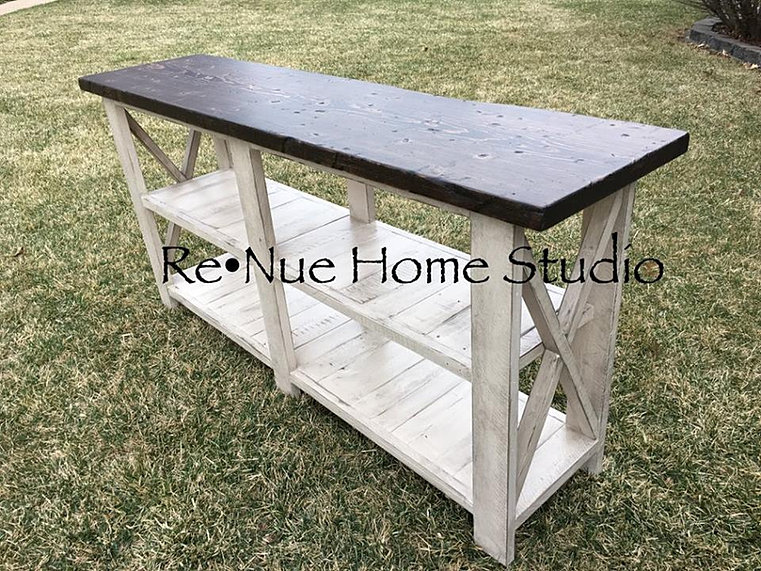 Custom Made Console Table