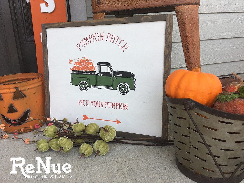Fall Vintage Truck
