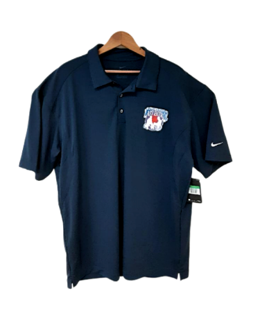 Navy Blue Polo Shirt w/ Last Patrol Logo