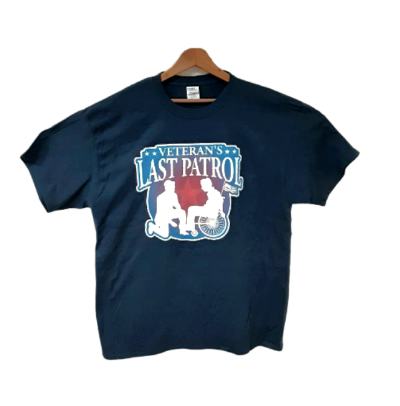 Navy Blue T-Shirt w/ Logo