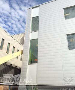 Mur Rideau en aluminium