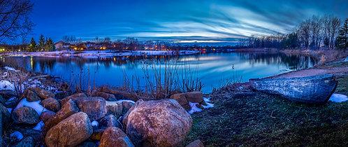 Evening light at Lake Katherine