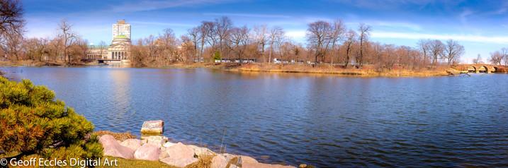 Jackson Park in Spring