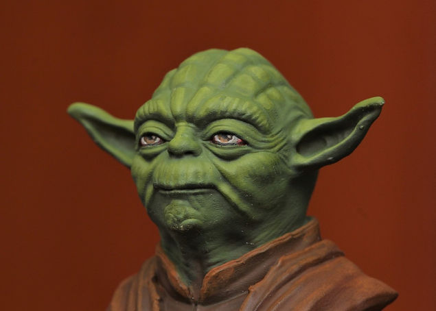 metre Yoda do filme Star Wars