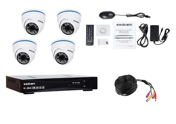 Комплект AHD внутреннего видеонаблюдения