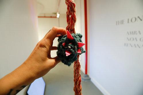 Noa Ginzburg,  Extra Ocular Object #1, Assembled sculpture, 2019