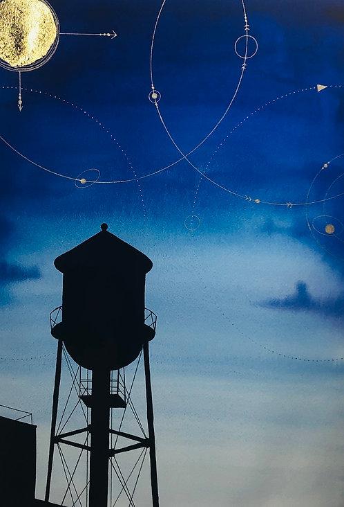 Alex Jamieson, 'Brooklyn Tower's Celestial Coordinates', 2019