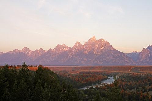 Teton Sunrise