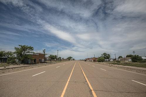 San Jon New Mexico Road