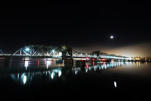 Steel Bridge Night