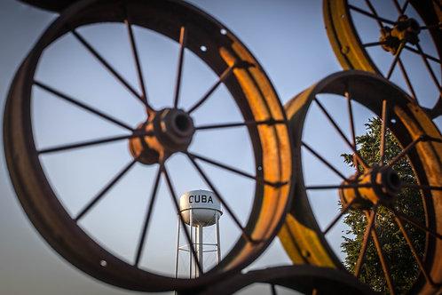 Cuba Missouri Wagon Wheel