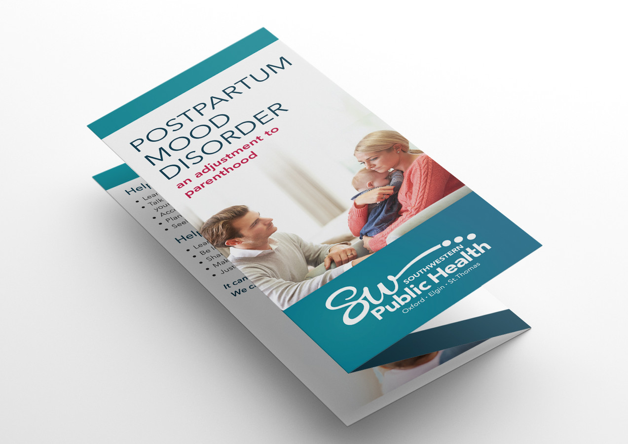 Postpartum Mood Disorder brochure