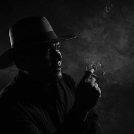 #retrato #pintor #humo #jezjaureguiphoto