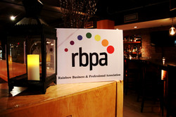 rbpa welcome sign at old port sea grill.