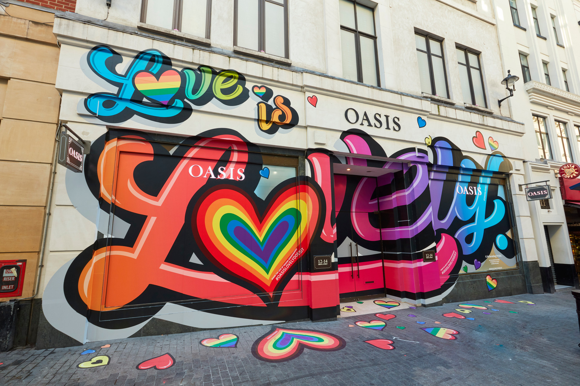Love is Lovely- Oasis Pride Campaign 2019