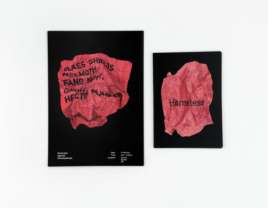 Crisis X Musicians Against Homelessness X UAL 2017