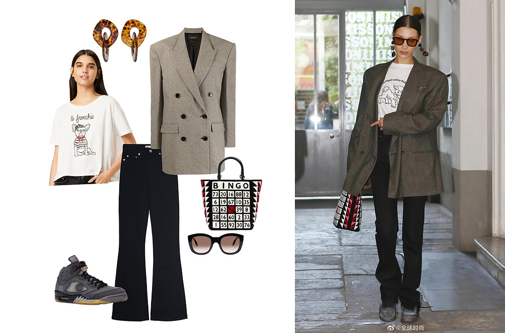 French Connection, Zara, Isabel Marant, Off-White, Lulu Guinness, Valet and Le Specs