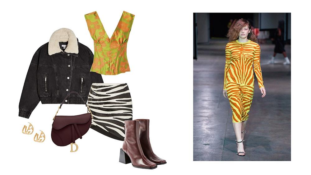 Marques' Almeida, Saint Laurent, Topshop, Dior, Marni and Marques' Almeida SS20 Runway Image