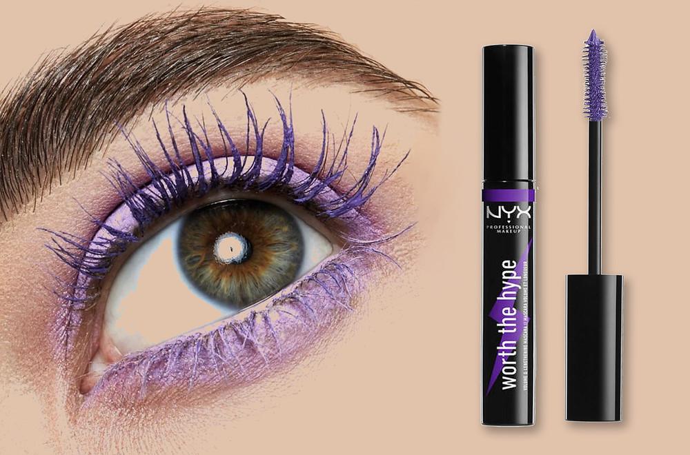 NYX Worth The Hype Volumizing and Lengthening Mascara in purple