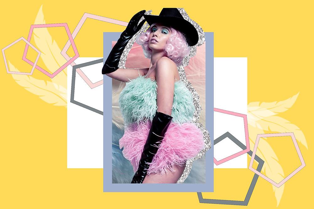 "One of Daisy Keen's ""ploomthelabel"" designs"