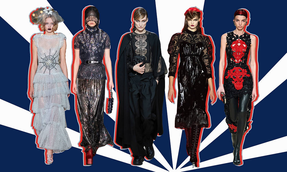 Rodarte, Paco Rabanne, Valentino, Anna Sui and Alexander McQueen AW20 Collections