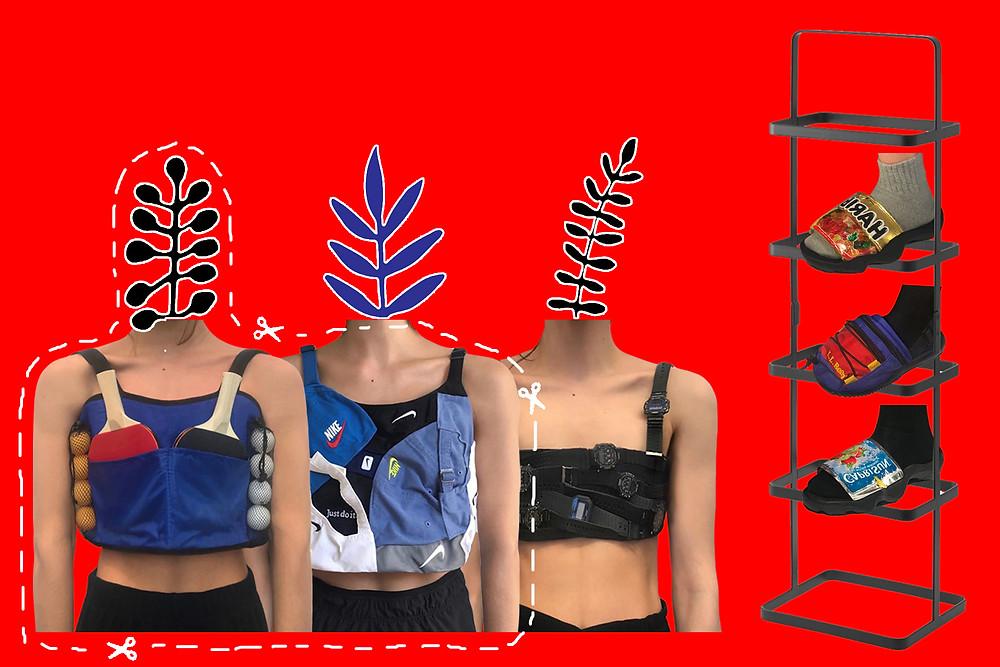 A collection of Nicole McLaughlin's designs