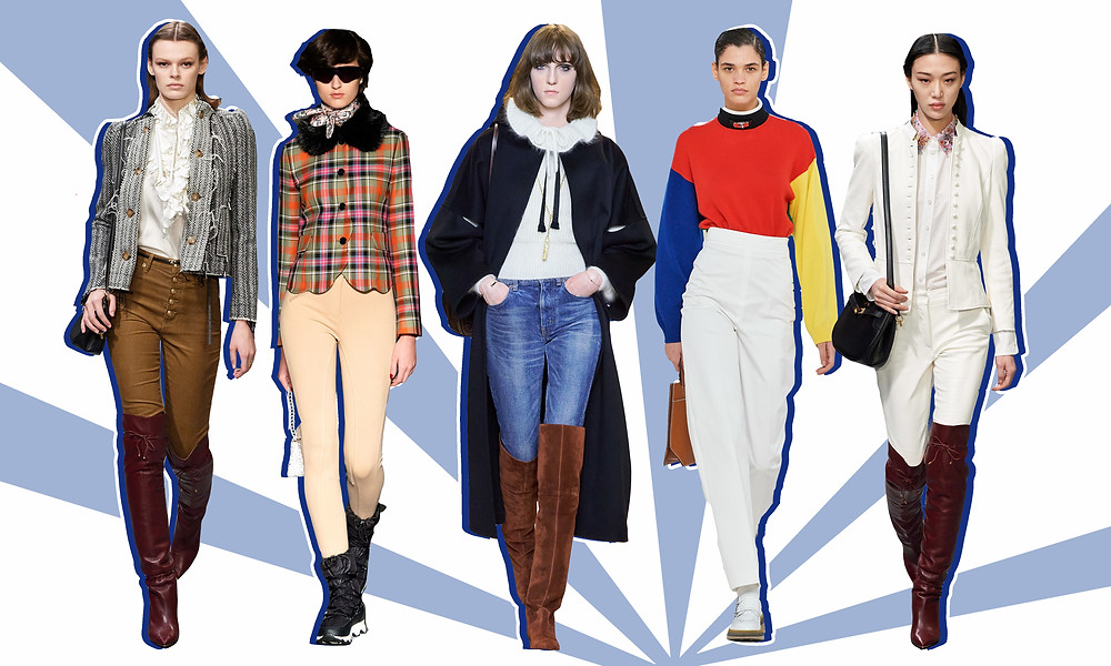 Tory Burch, Shrimps, Celine and Hermes AW20 Collections