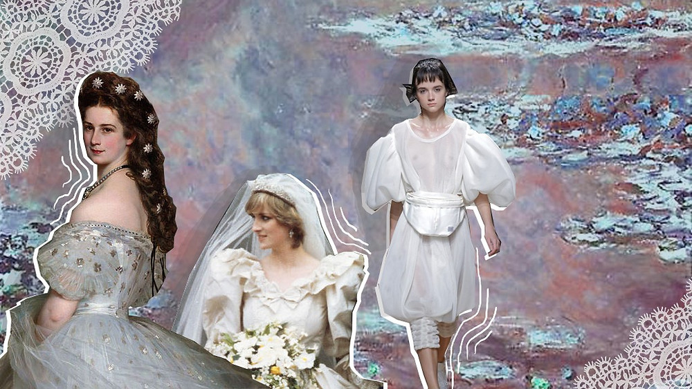 Franz Xaver Winterhalter oil painting of Empress Elisabeth of Austria from 1865, Princess Diana and Anrealage SS20