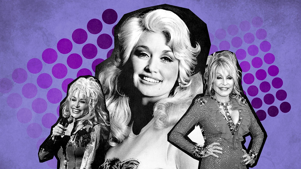 Collage of Dolly Parton