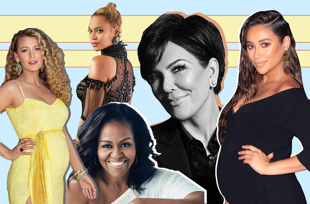 Blake Lively, Beyoncé, Michelle Obama, Kris Jenner and Shay Mitchell