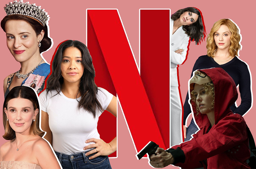 Claire Foy, Gina Rodriguez, Millie Bobby Brown, Alexa Chung, Christina Hendricks and Esther Acebo