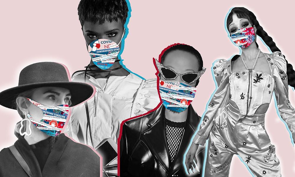 Street style from LFW 2020, Tenika Mahoney in VGXW Magazine, Lyan Ban, Sita Abellan and Sheridan Tjhung