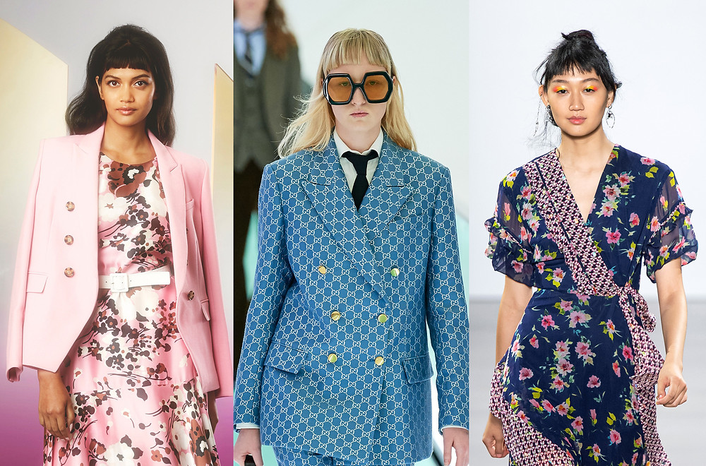 Veronica Beard, Gucci and Nicole Miller SS20 Collections