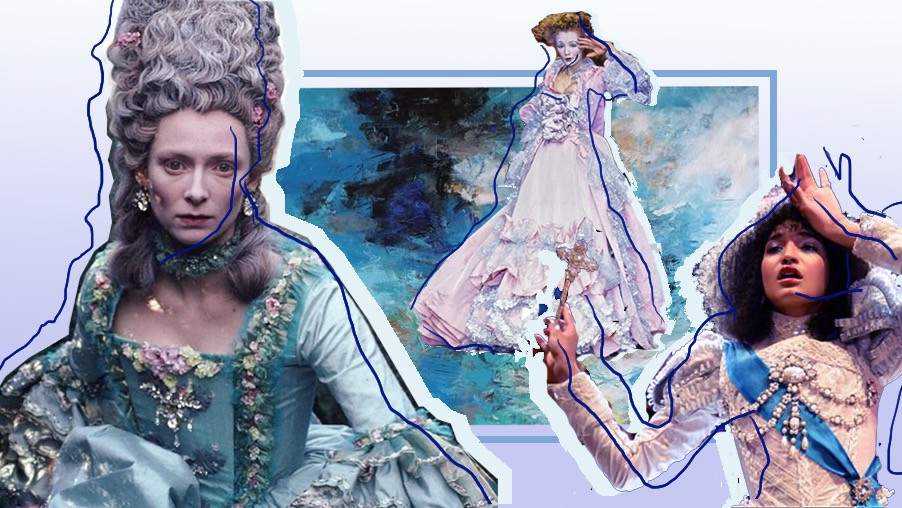 """Tilda Swinton in 'Orlando', a character from drama """"Pose"""" and Vivienne Westwood 1995 runway collection"""