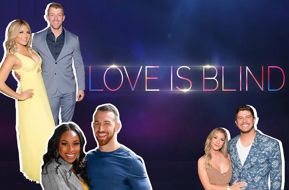 Giannina Gibelli and Damian Powers, Lauren Speed and Cameron Hamilton, Amber Pike and Matt Barnett