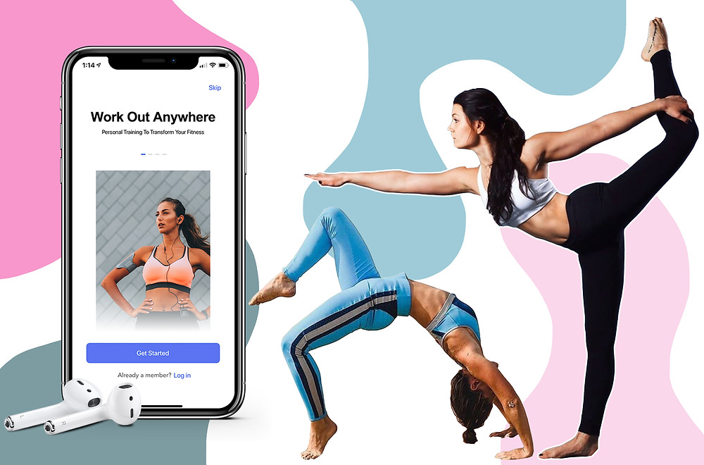 Auro App and fitness models from Auro's Instagram