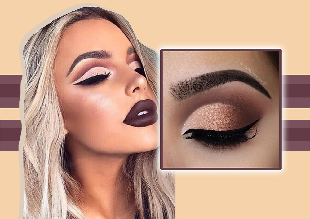 Design for the 'concealer cut crease' trend