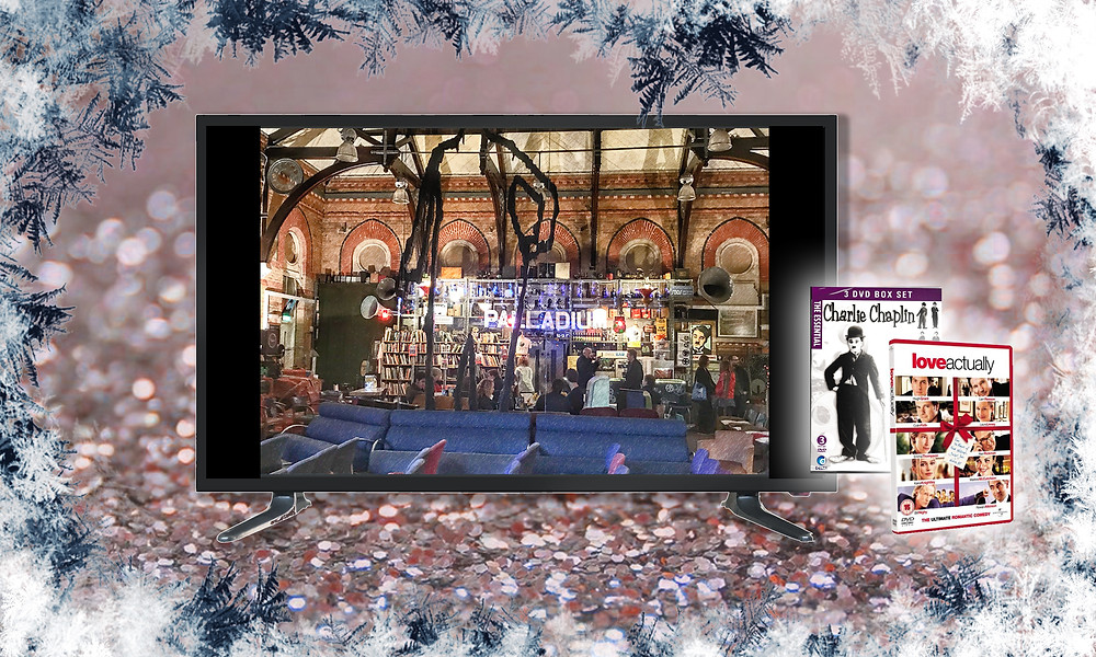 'The Cinema Museum', a Charlie Chaplain box set and 'Love Actually' on DVD