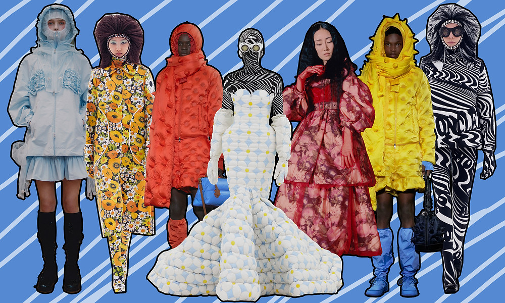 Moncler JW Anderson, Moncler Simone Rocha and Moncler Richard Quinn A/W 2020 Collections